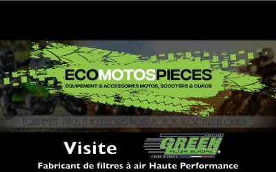 Reportage vidéo chez Green Filter Europe